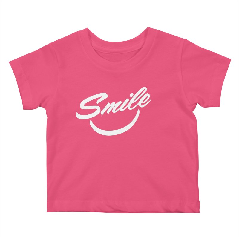 Smile Kids Baby T-Shirt by toast designs