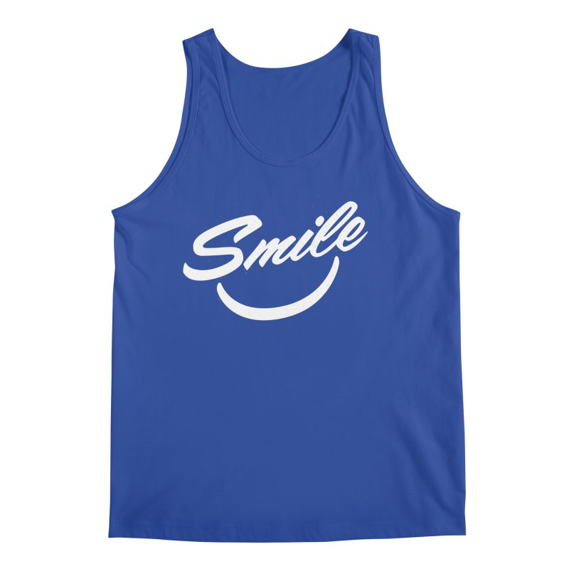 Smile Men's Tank by toast designs