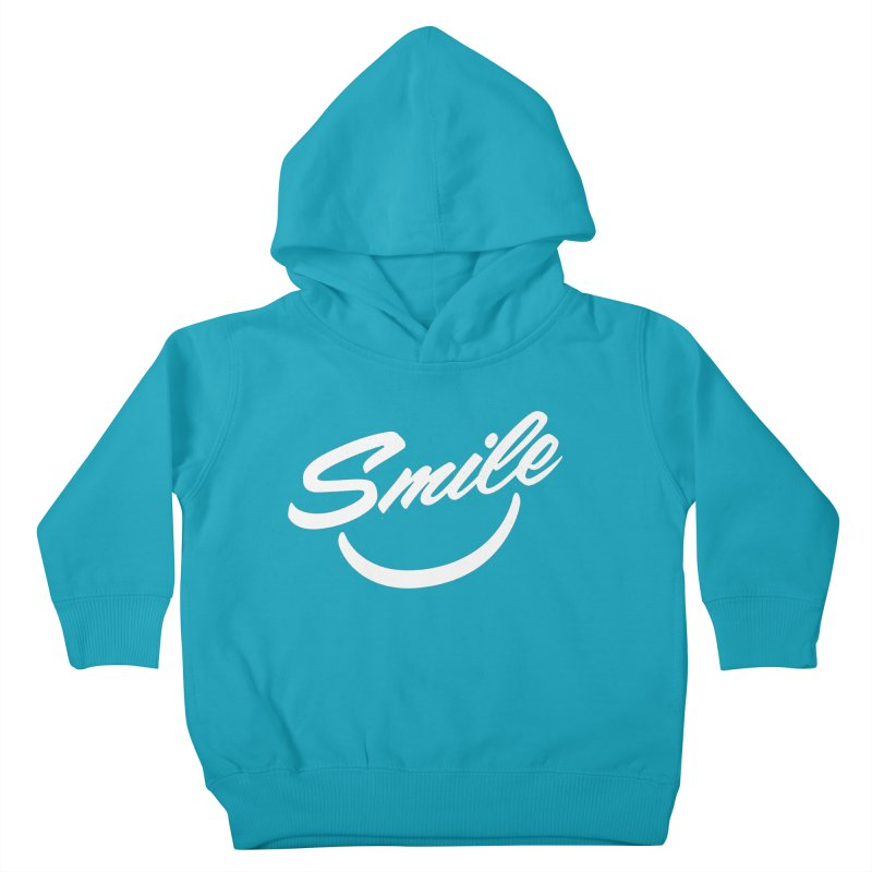 Smile Kids Toddler Pullover Hoody by toast designs