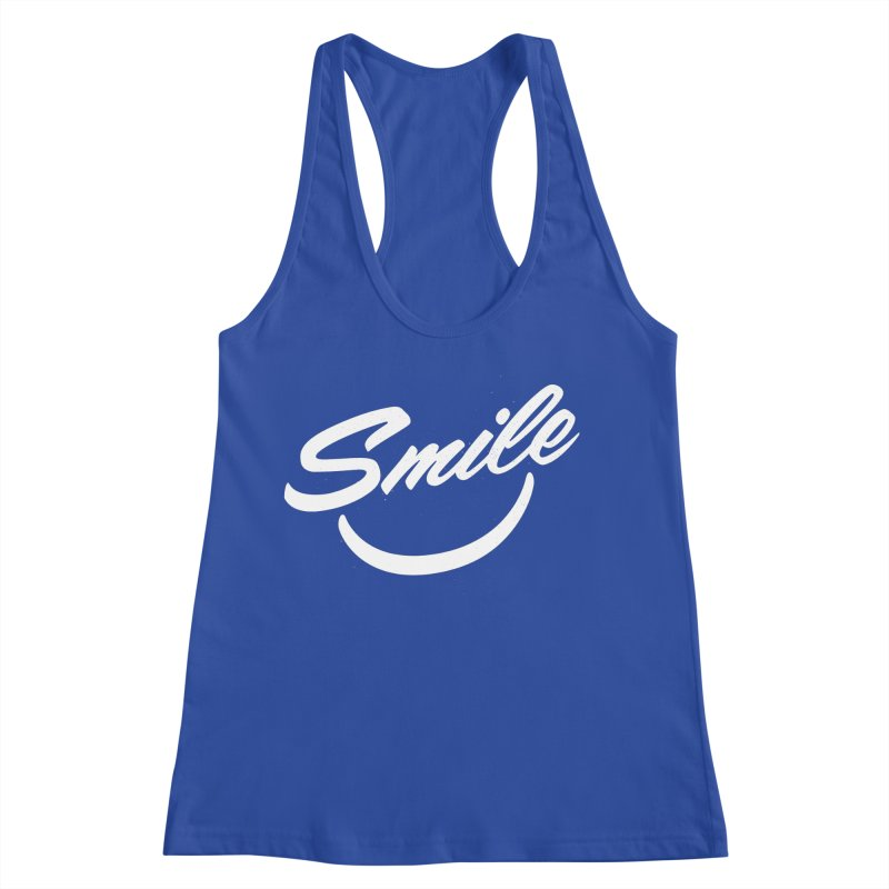 Smile Women's Racerback Tank by toast designs