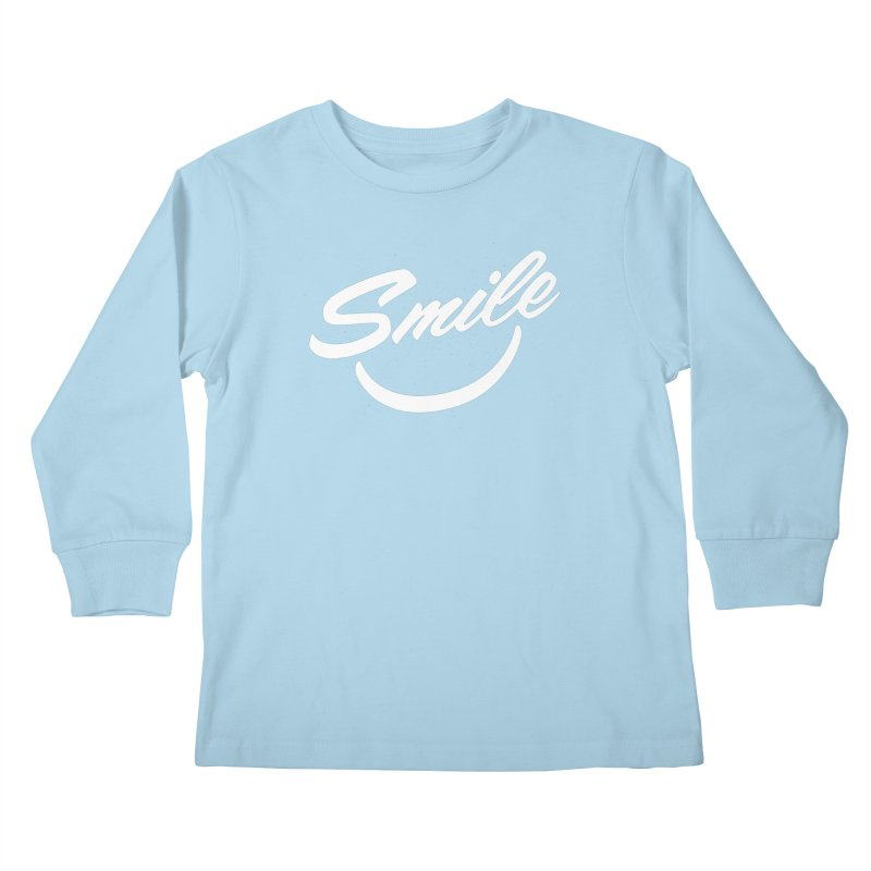 Smile Kids Longsleeve T-Shirt by toast designs