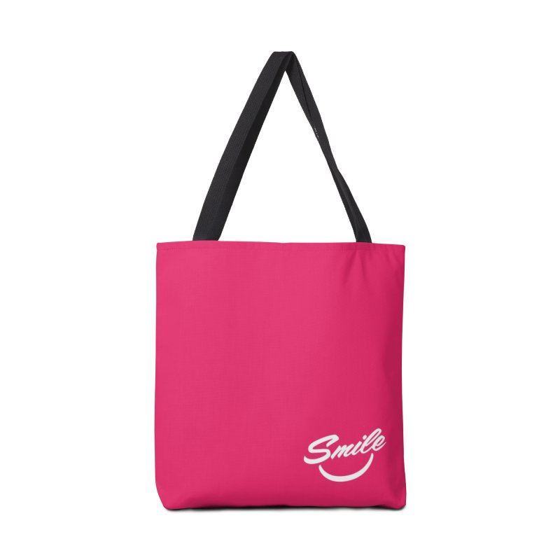 Smile Accessories Tote Bag Bag by toast designs