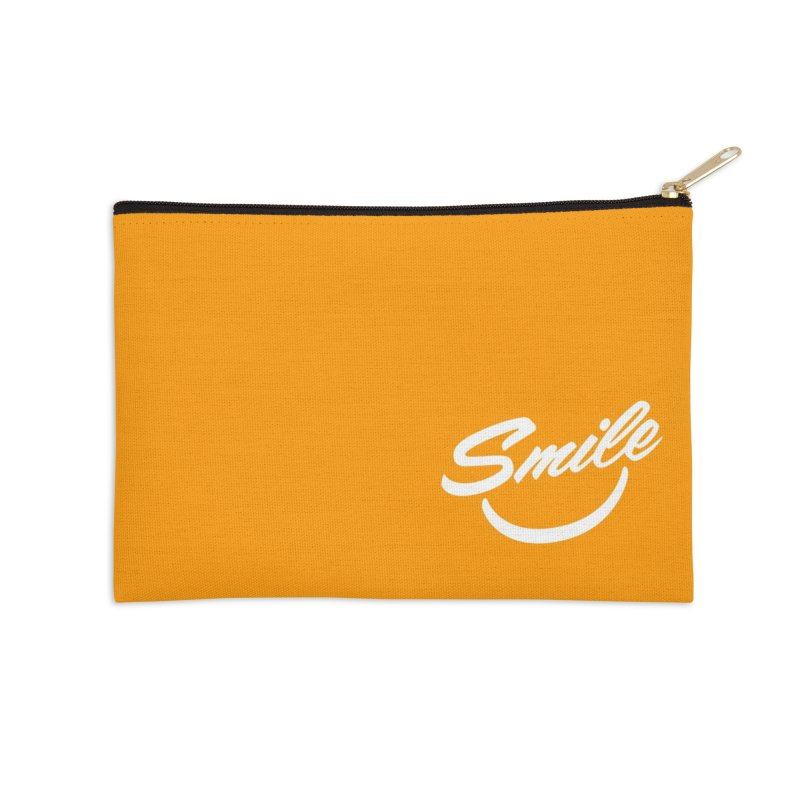 Smile Accessories Zip Pouch by toast designs