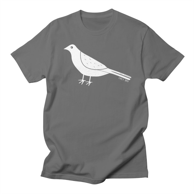 Early Bird in Men's Regular T-Shirt Asphalt by toast designs