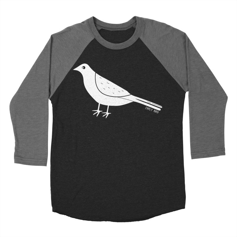 Early Bird Women's Baseball Triblend Longsleeve T-Shirt by toast designs