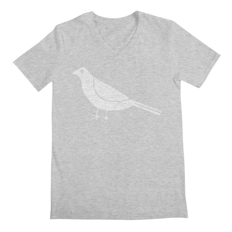 Early Bird Men's Regular V-Neck by toast designs