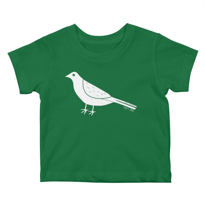 Early Bird Kids Baby T-Shirt by toast designs