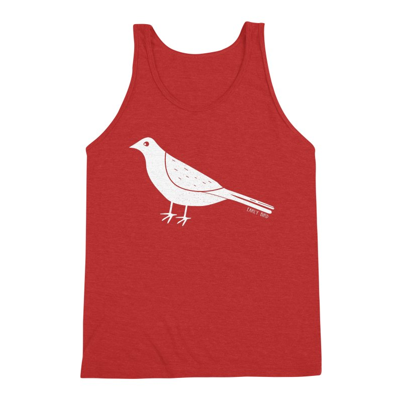 Early Bird Men's Triblend Tank by toast designs