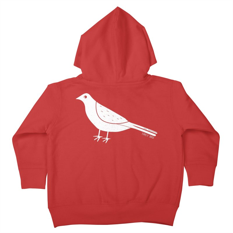 Early Bird Kids Toddler Zip-Up Hoody by toast designs