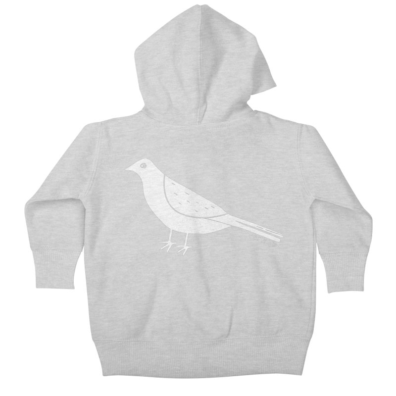 Early Bird Kids Baby Zip-Up Hoody by toast designs