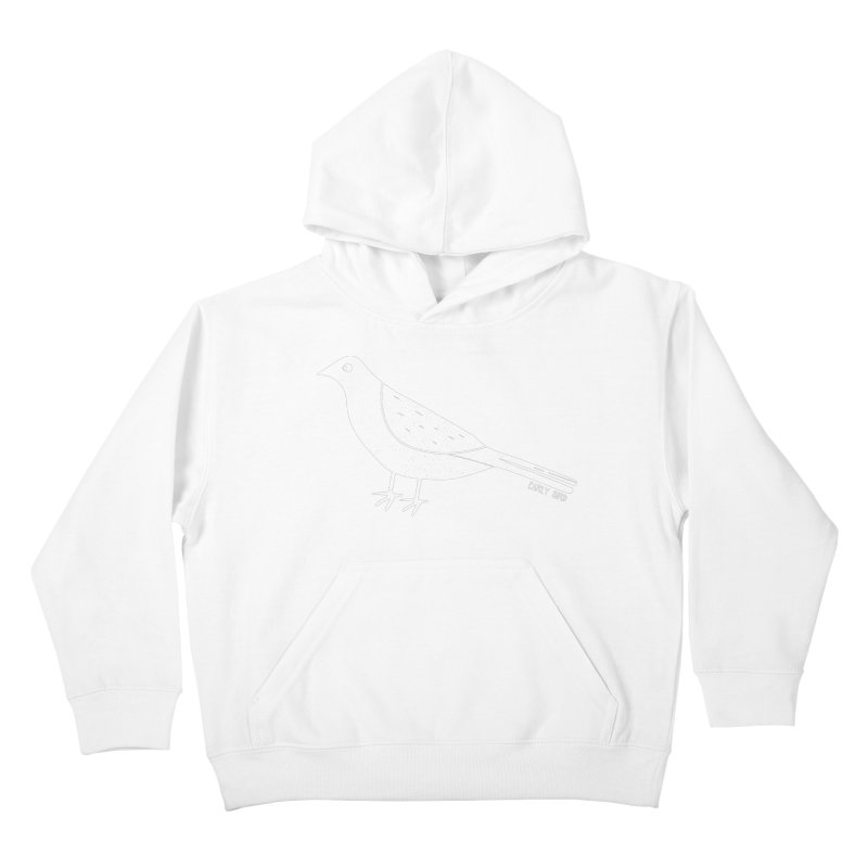 Early Bird Kids Pullover Hoody by toast designs