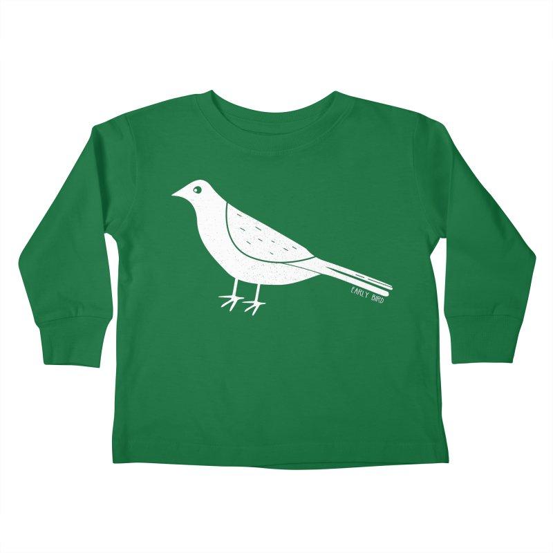 Early Bird Kids Toddler Longsleeve T-Shirt by toast designs
