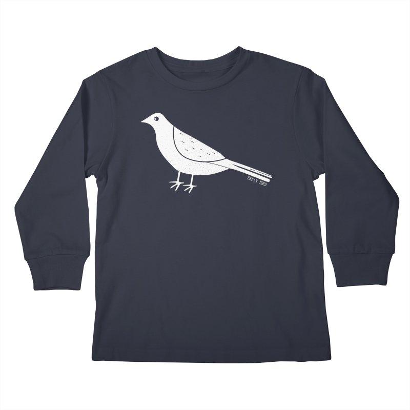Early Bird Kids Longsleeve T-Shirt by toast designs
