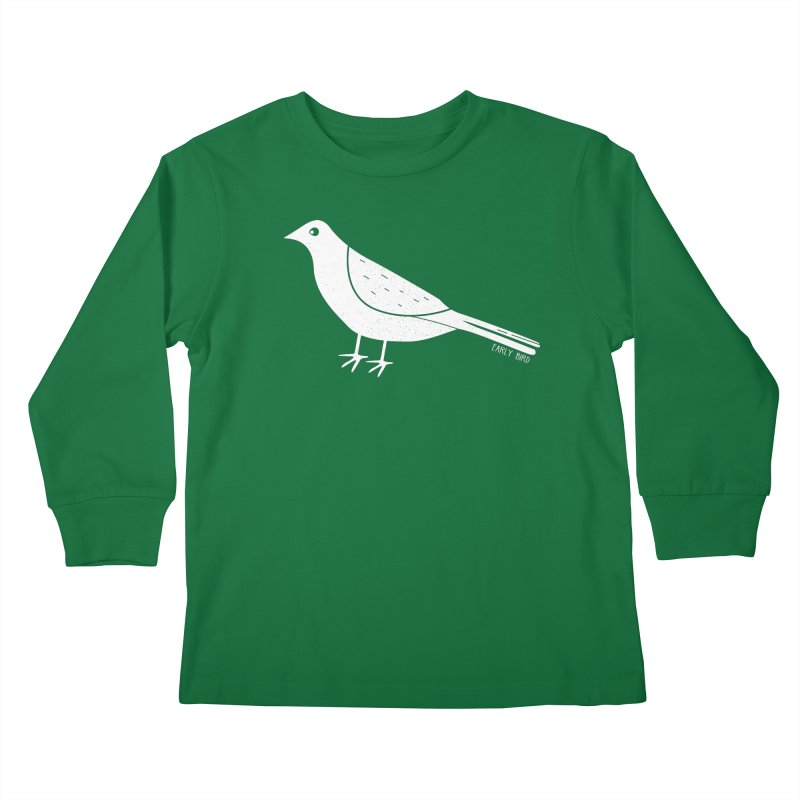 Early Bird Kids Longsleeve T-Shirt by toast designs