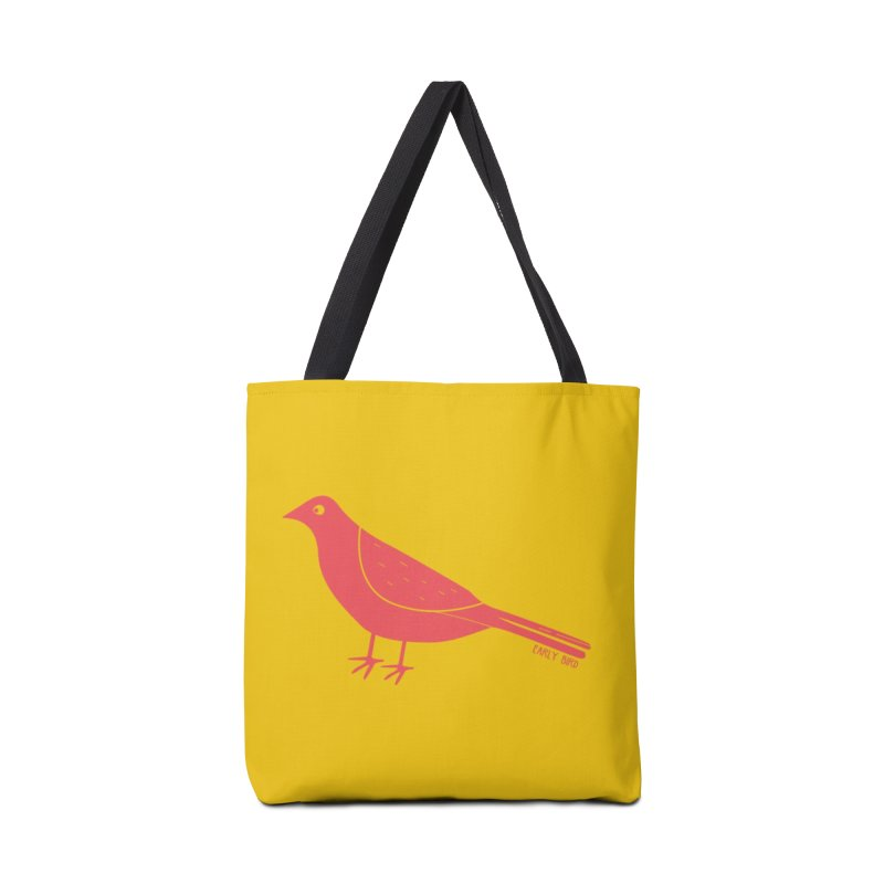 Early Bird in Tote Bag by toast designs