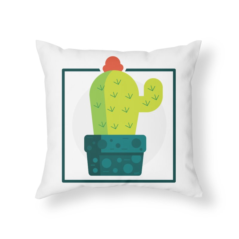 Prickly Home Throw Pillow by toast designs