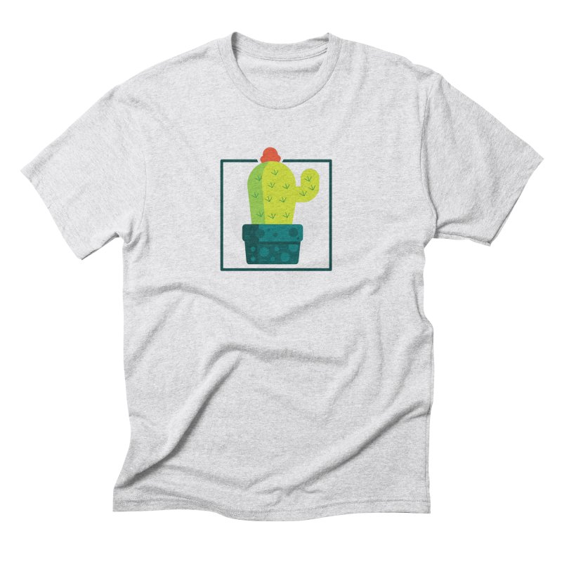 Prickly in Men's Triblend T-Shirt Heather White by toast designs