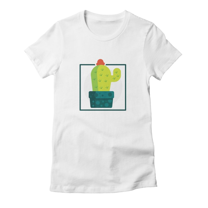 Prickly Women's Fitted T-Shirt by toast designs