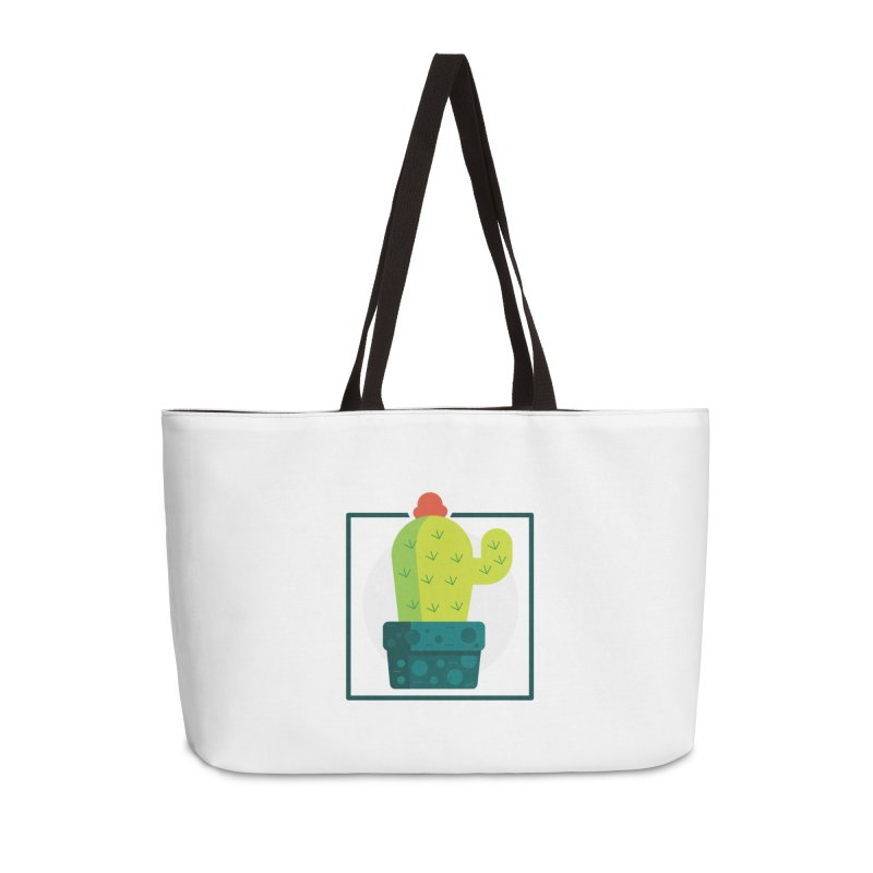 Prickly Accessories Weekender Bag Bag by toast designs