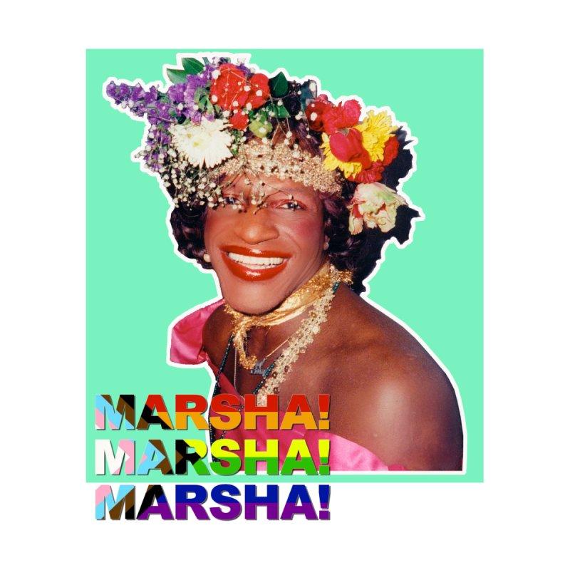 Marsha! Men's T-Shirt by Toban Nichols Studio