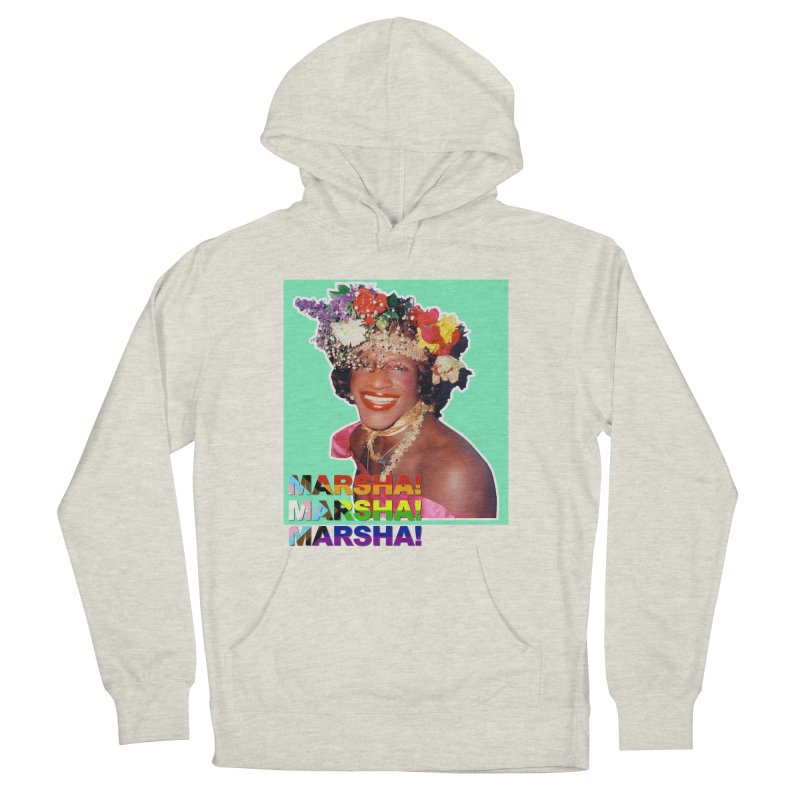 Marsha! Women's French Terry Pullover Hoody by Toban Nichols Studio