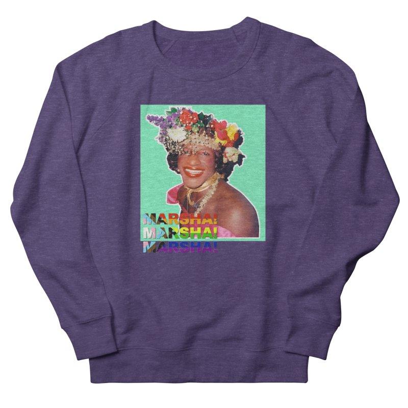 Marsha! Men's French Terry Sweatshirt by Toban Nichols Studio