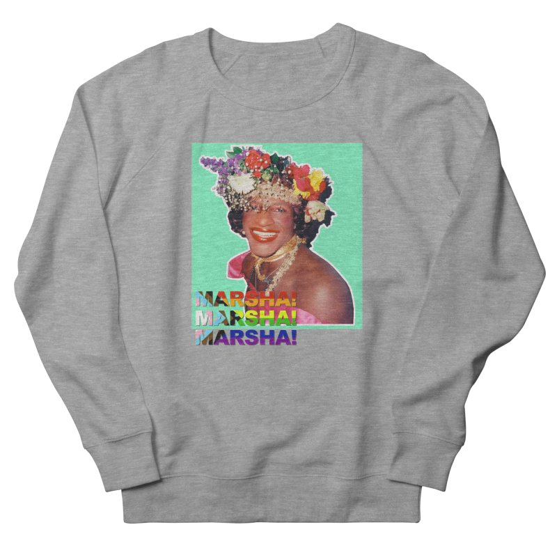 Marsha! Men's French Terry Sweatshirt by Toban Nichols Studio