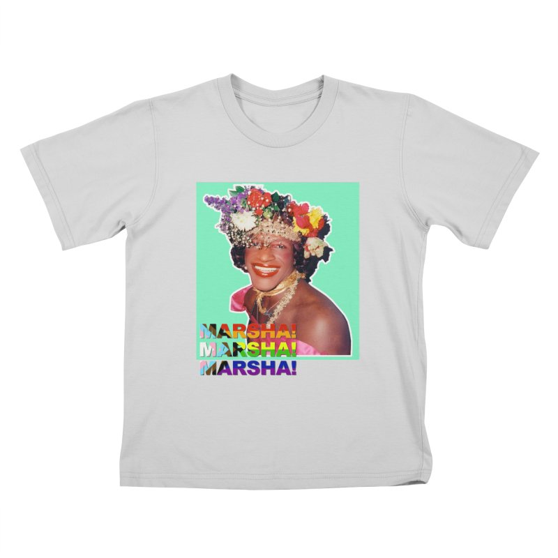 Marsha! Kids T-Shirt by Toban Nichols Studio