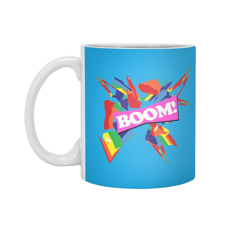 BOOM! Accessories Standard Mug by Toban Nichols Studio