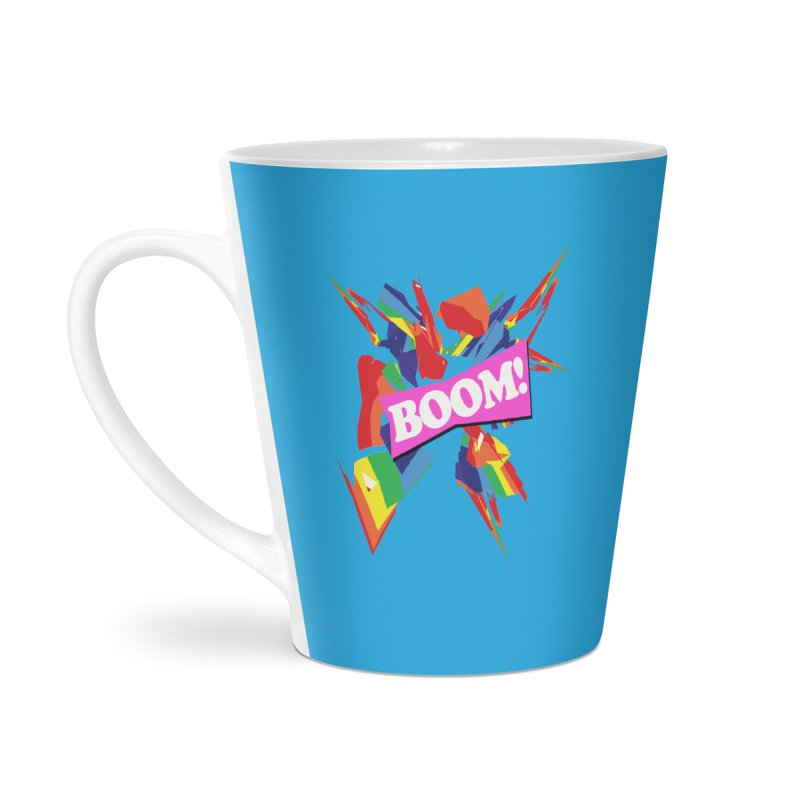 BOOM! Accessories Latte Mug by Toban Nichols Studio