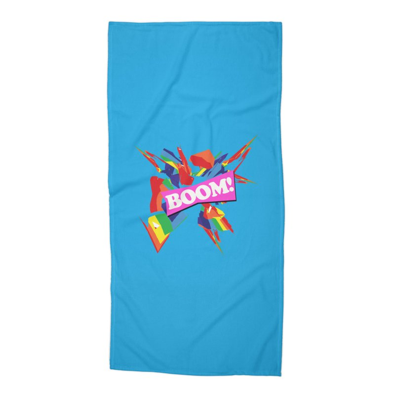 BOOM! Accessories Beach Towel by Toban Nichols Studio