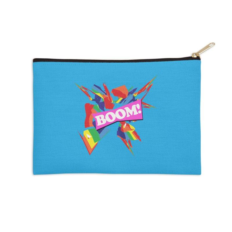 BOOM! Accessories Zip Pouch by Toban Nichols Studio