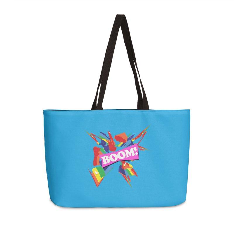 BOOM! Accessories Weekender Bag Bag by Toban Nichols Studio