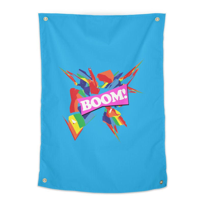 BOOM! Home Tapestry by Toban Nichols Studio