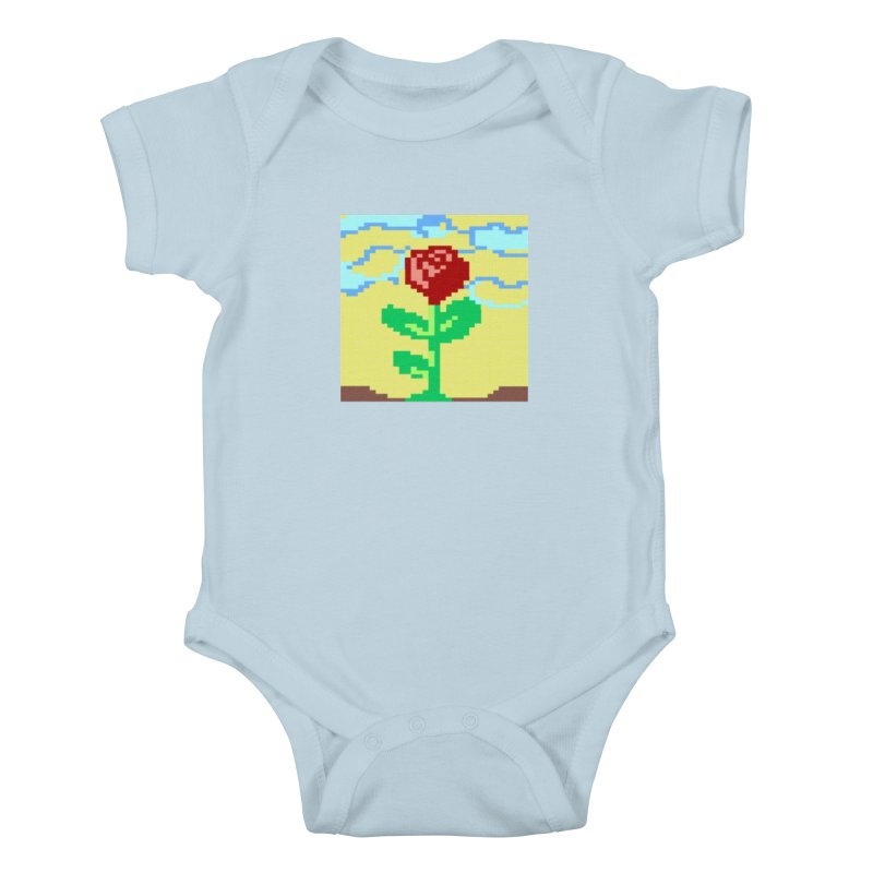 Rose Kids Baby Bodysuit by Toban Nichols Studio