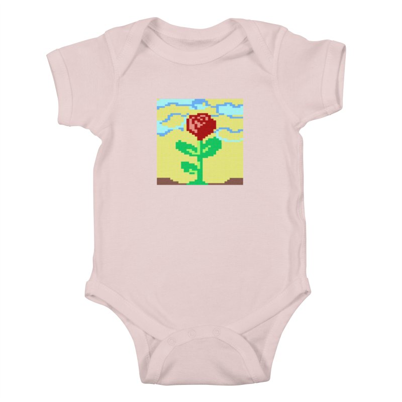 Rose Kids Baby Bodysuit by Toban Nichols Studio