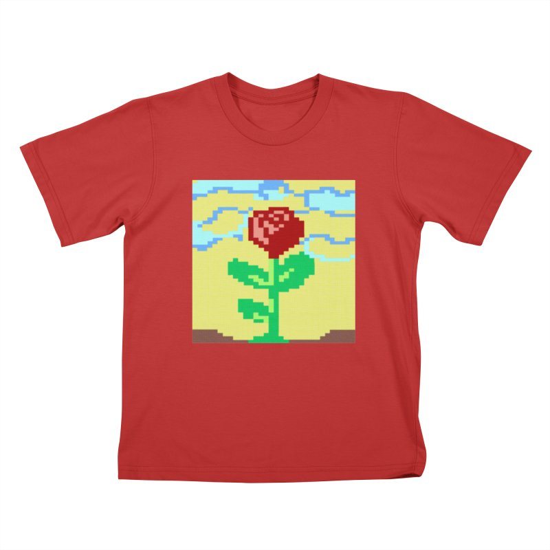 Rose Kids T-Shirt by Toban Nichols Studio