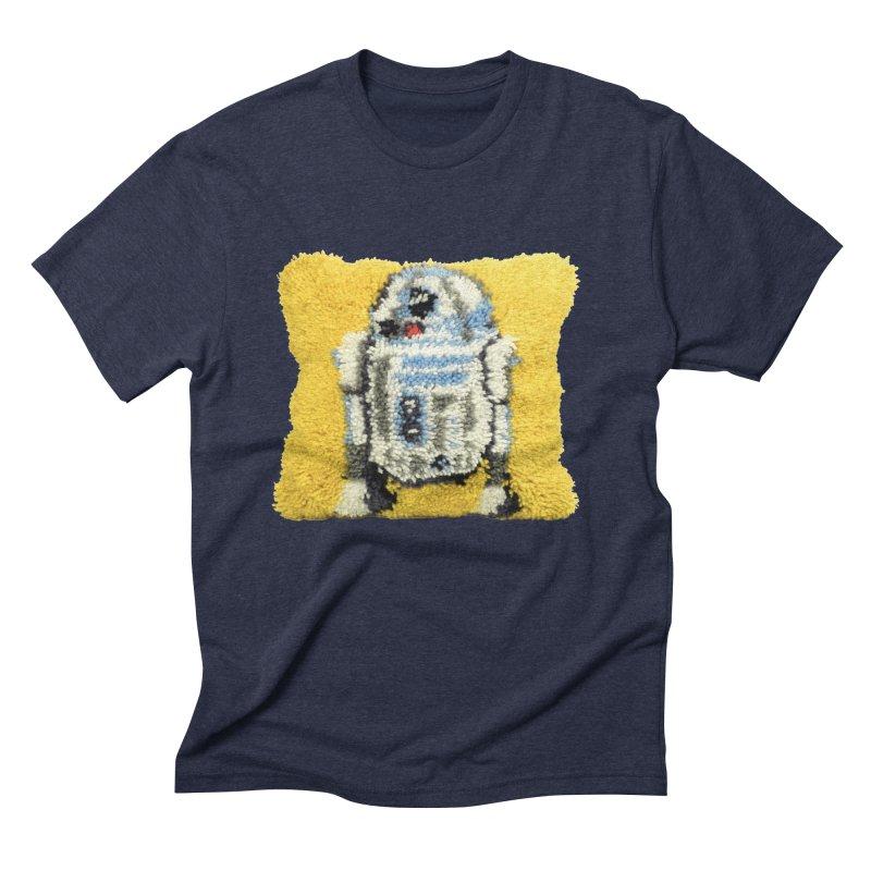 R2Fuzz Men's Triblend T-Shirt by Toban Nichols Studio