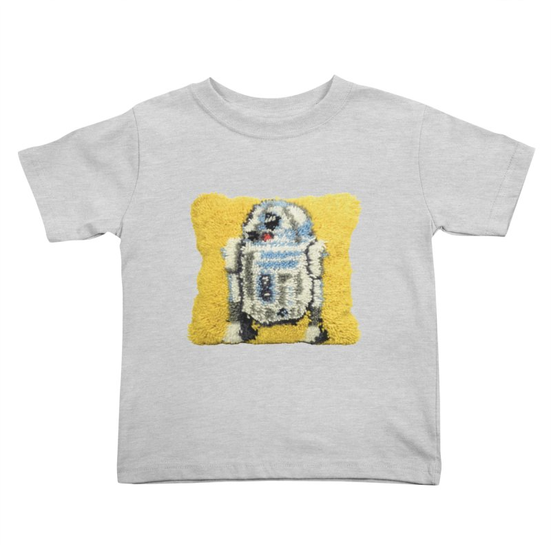 R2Fuzz Kids Toddler T-Shirt by Toban Nichols Studio