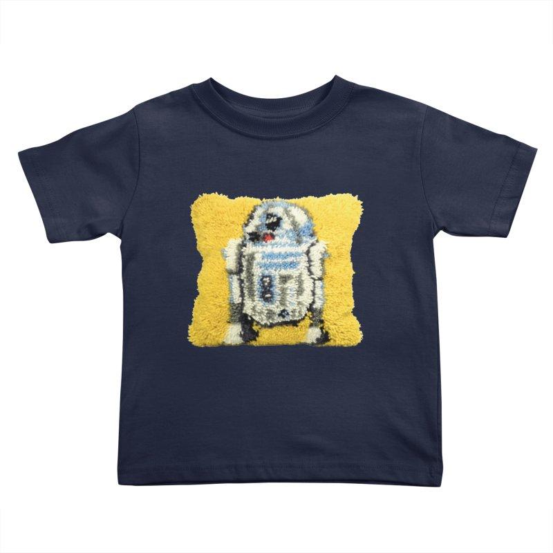 R2Fuzz Kids Toddler T-Shirt by Toban Nichols Studio