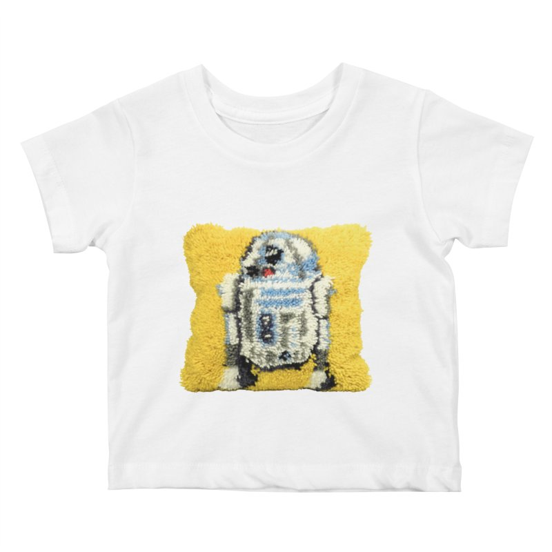 R2Fuzz Kids Baby T-Shirt by Toban Nichols Studio
