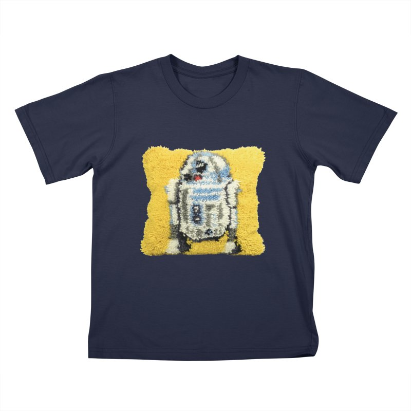 R2Fuzz Kids T-Shirt by Toban Nichols Studio