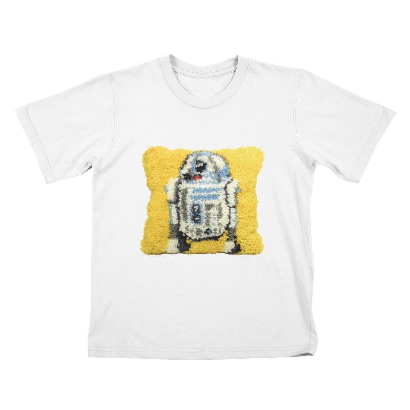 R2Fuzz Kids T-Shirt by Toban Nichols Studio