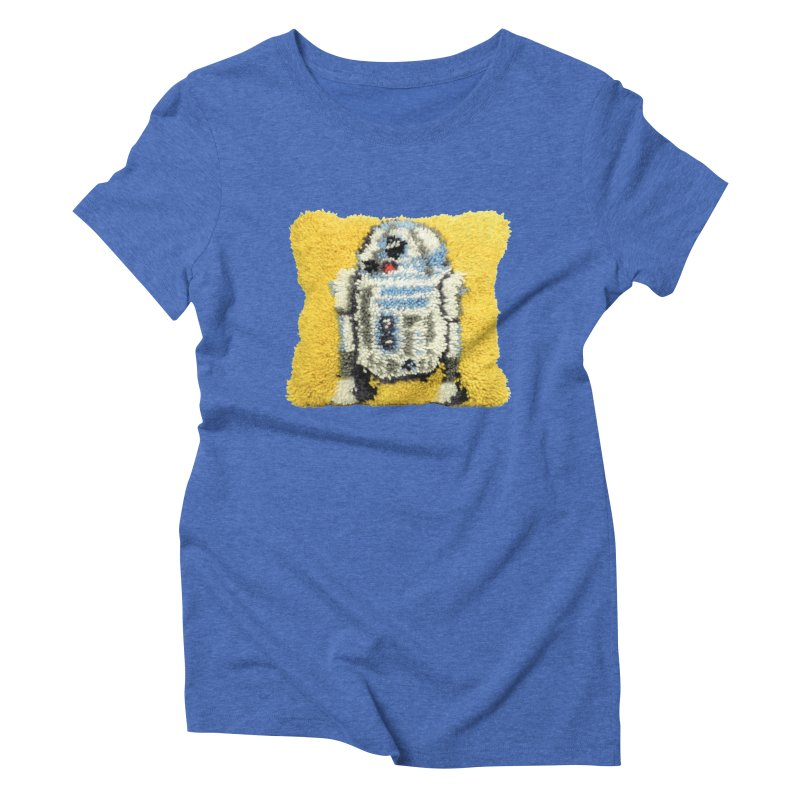 R2Fuzz Women's Triblend T-Shirt by Toban Nichols Studio