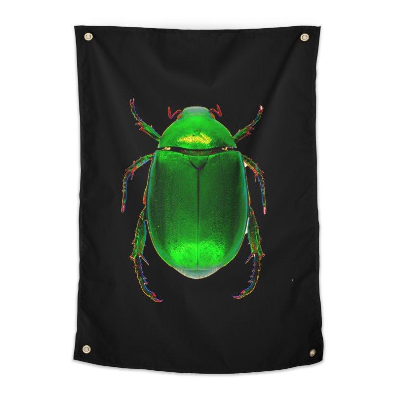 Scarab Beetle Home Tapestry by Toban Nichols Studio