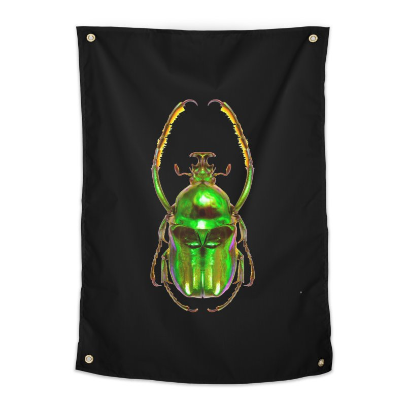 Ischnoscelis Dohrni Beetle Home Tapestry by Toban Nichols Studio