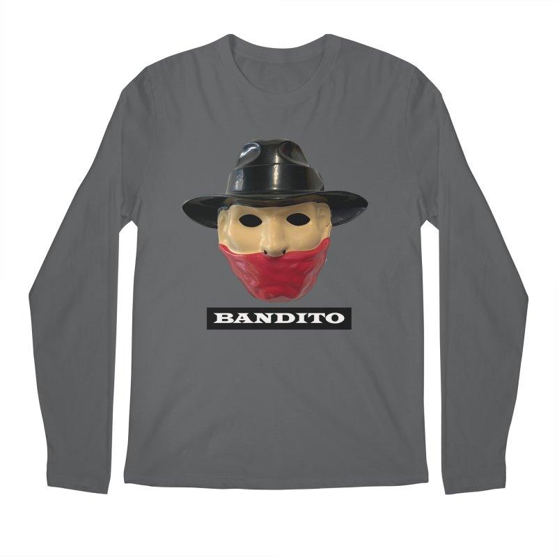 Bandito Men's Regular Longsleeve T-Shirt by Toban Nichols Studio