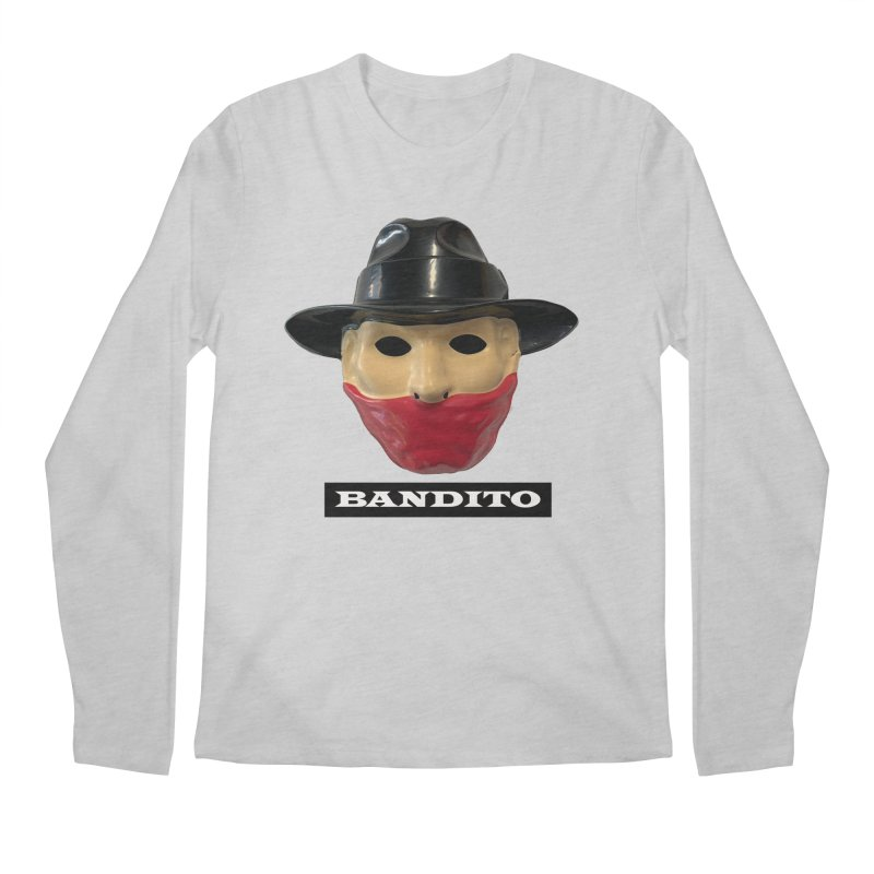 Bandito Men's Regular Longsleeve T-Shirt by Toban Nichols Studio