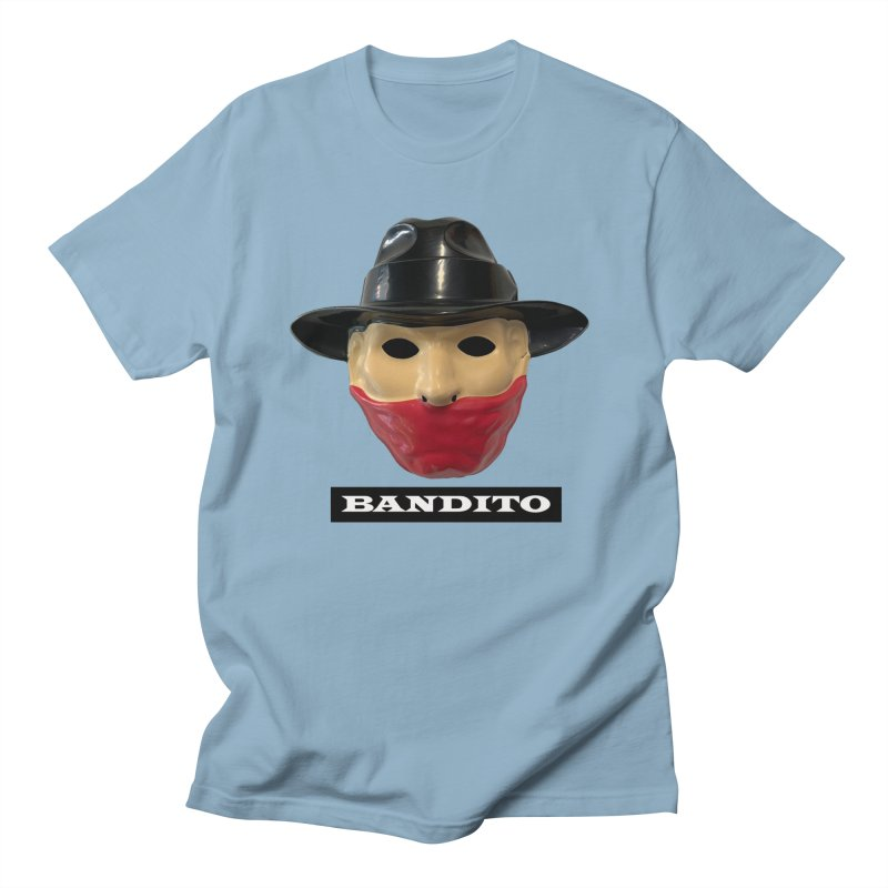 Bandito Men's Regular T-Shirt by Toban Nichols Studio