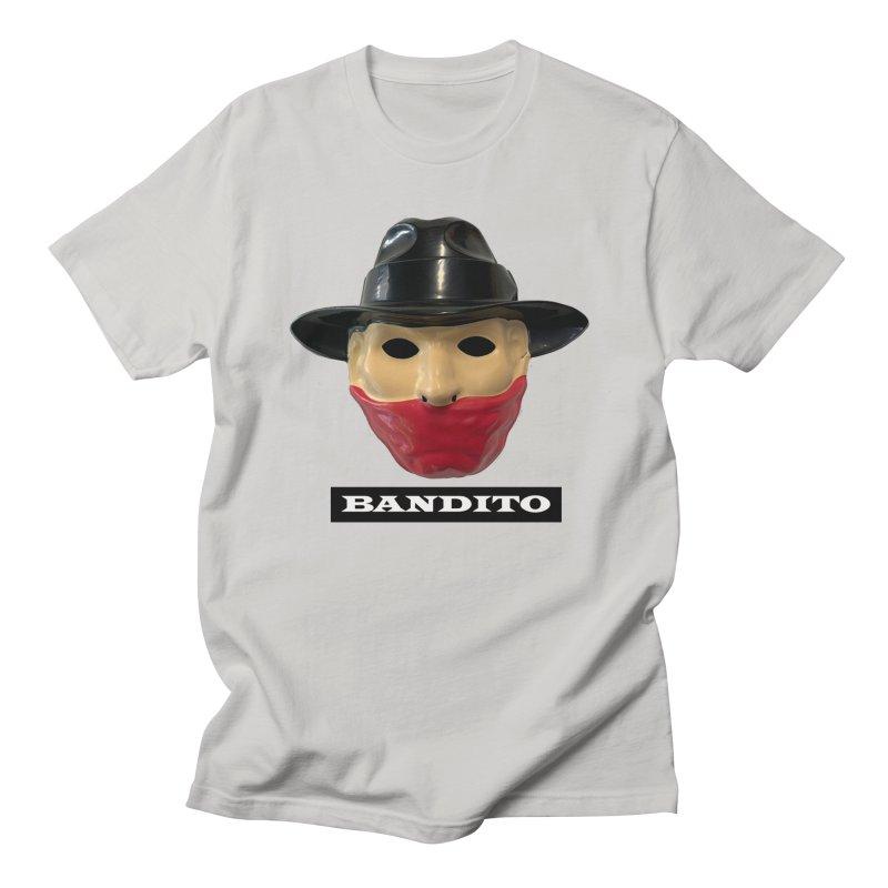 Bandito in Men's Regular T-Shirt Stone by Toban Nichols Studio